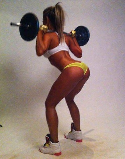 Laura Prestin Squats and she is a 10/10! Here are some proofs.