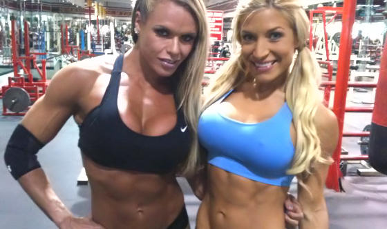 best female fitness models