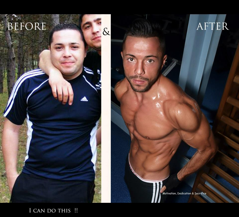 Before After workout photos – Top 15 Fan sent.