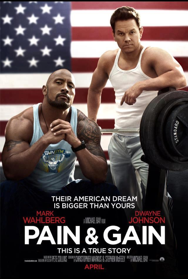 Pain & Gain movie trailer – Starring The Rock and Mark Wahlberg