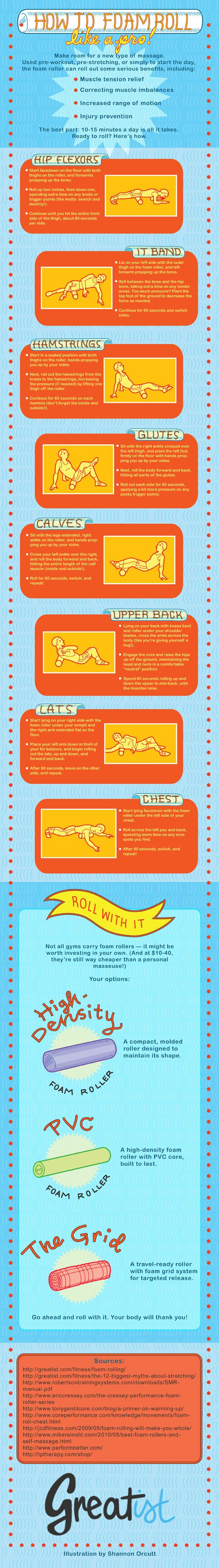 How To Foam Roll