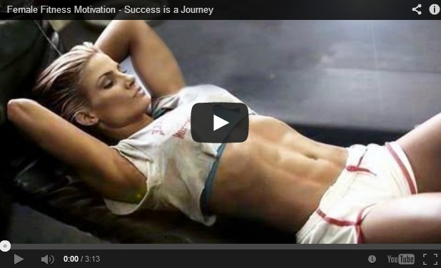 Video: Female Fitness Motivation – Success is a Journey