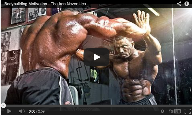 Bodybuilding Motivation – The Iron Never Lies!