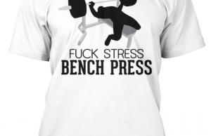 fuck stress bench press