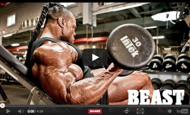 Bodybuilding Motivational Video: I Am The Beast