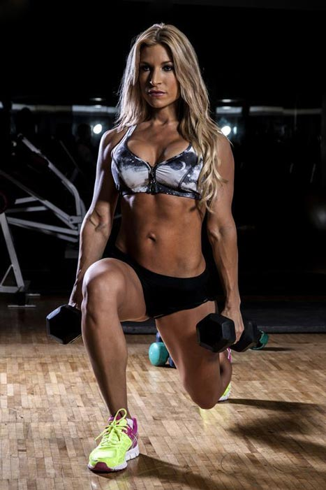 Fitness Model Ingrid Romero Talks With Thegymlifestyle