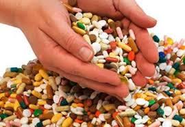 scooping pills