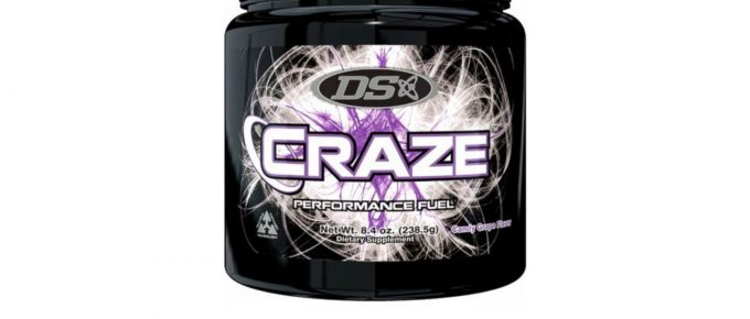Driven Sports Craze pre-workout