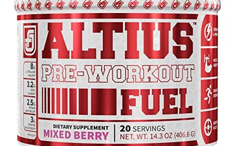 Jacked Factory Altius pre workout review