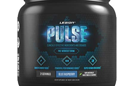 Legion Athletics Pulse Pre-Workout Review