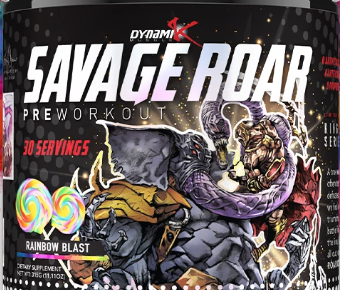 Savage roar pre-workout