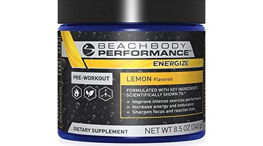 Beachbody Performance Energize Pre-workout Review
