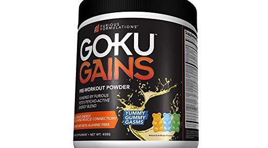 Goku Gains Pre-workout Review