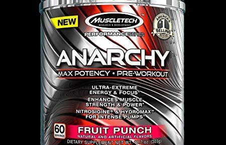 MuscleTech Anarchy Pre-workout Review