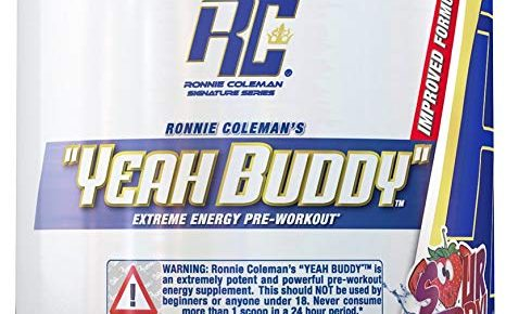 Ronnie Coleman Yeah Buddy Pre-workout Review
