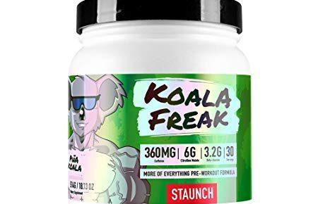 Staunch Nation Koala Freak Pre-workout Review